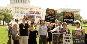 Advocates at Taking Action for Animals Lobby Day 2009