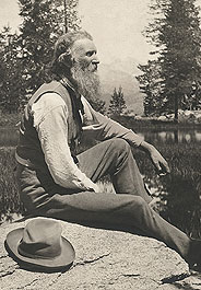 John Muir in Yosemite National Park, circa 1902