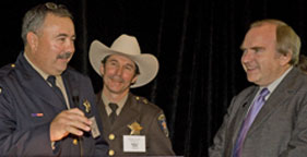 Dona Ana County, N.M., Sheriff Todd Garrison and N.M. Attorney General Gary King honored at Humane Law Enforcement Awards