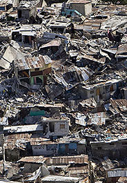 Damage from the Jan. 12 earthquake in Haiti