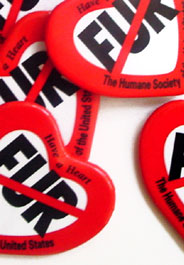 HSUS Fur-Free Buttons