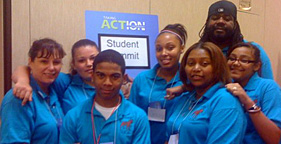Members of Opportunities for Action at TAFA Student Summit
