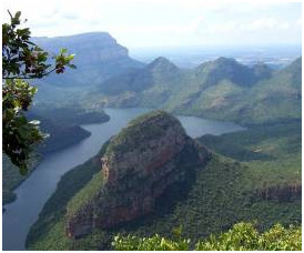 Blyde River Canyon, one of South Africa's natural wonders