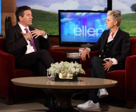 Wayne Pacelle on the Ellen DeGeneres Show