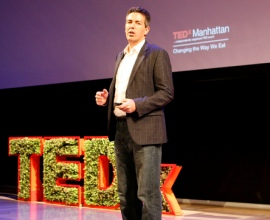 Wayne Pacelle speaking at TEDxManhattan event