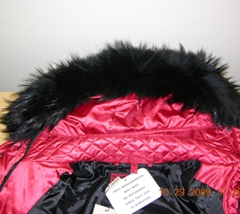 Garment with real fur advertised as faux fur