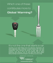 HSUS animal agriculture climate change ad